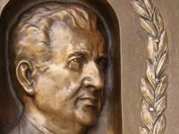 Г.Н.Кирпа,мемориальная доска, г.Чоп / G. Kirpa. Memorial plaque