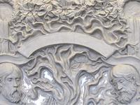 Двери / Sculptural relief on door