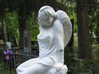 Девочка-ангел / Girl-angel. Headstone